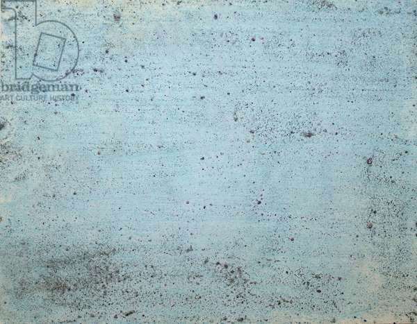 ross, 2007, (sea ice from the Antarctica's Ross Sea, sediment from Antarctica's Dry Valleys and mixed media on paper)