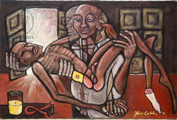 Lover (AIDS), 1993 (acrylic on canvas)