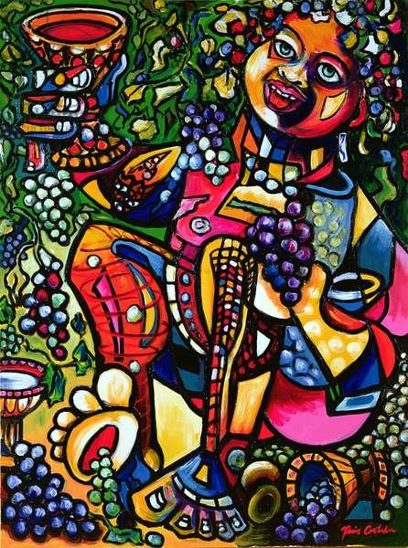 Dionysus, 1998 (acrylic on canvas)