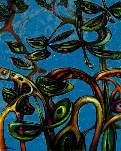 Mangroves, 2008 (pigment print on somerset velvet)