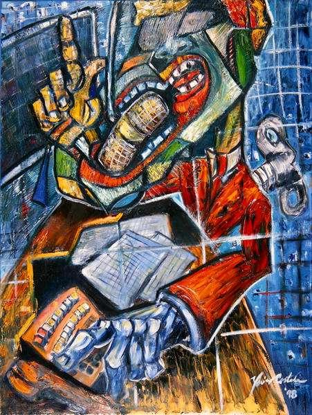 Radio Bemba, 1998 (oil on canvas)