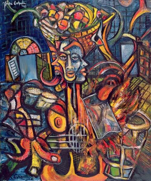 A que sabe la nostalgia, 1998 (oil on canvas)