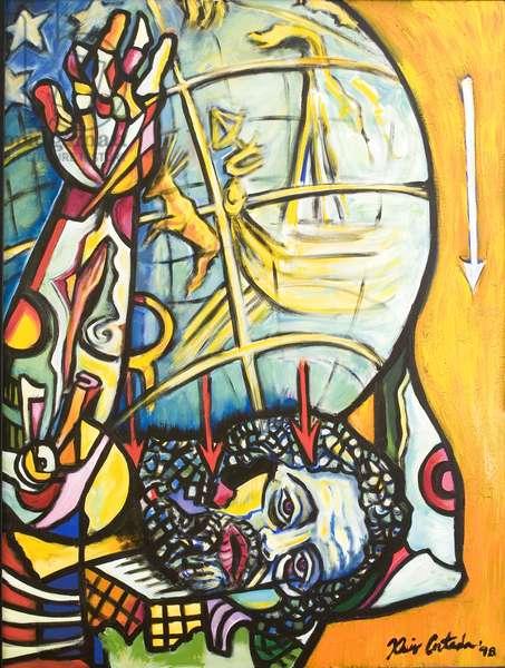 Atlas, 1998 (acrylic on canvas)