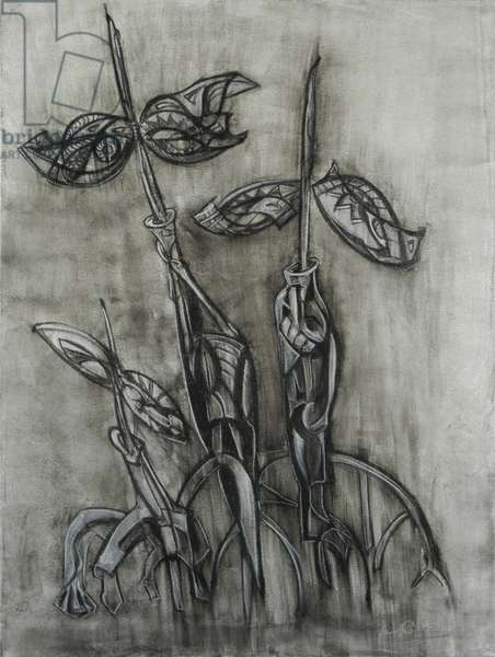 Mangroves 2, 2004 (mixed media on canvas)