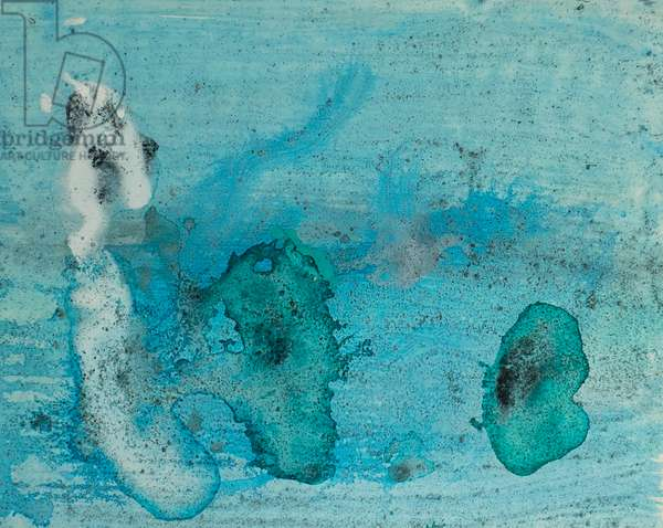 Antarctic Ice Painting: A11, 2008 (Antarctic ice, acrylic, and mixed media on paper)