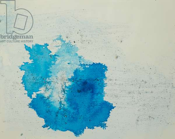 Antarctic Ice Painting: A47, 2008 (Antarctic ice, acrylic, and mixed media on paper)