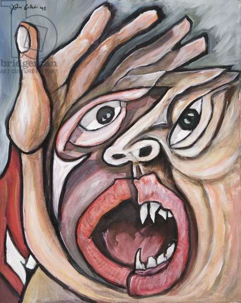 Devouring Fears, 1993 (acrylic on canvas)