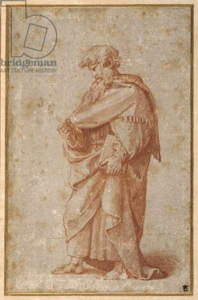 The Twelve Apostles: St. Philip, 1518-20 (chalk on paper)