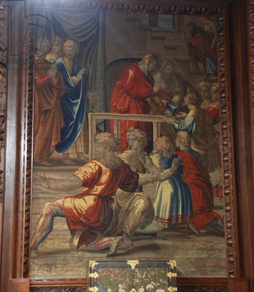 The Death of Ananias, Mortlake workshop, 1635-39 (textile)