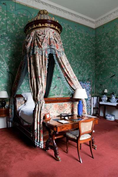 Queen of Scots Dressing Room, Chatsworth House, Derbyshire (photo)