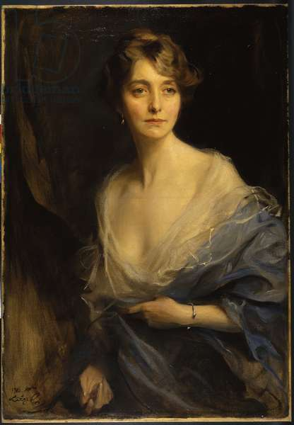 Portrait of Sydney Bowles, Lady Redesdale, 1916 (oil on canvas)