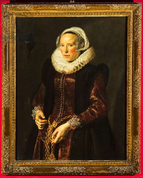 Portrait of a woman, c.1611 (oil on wood panel)