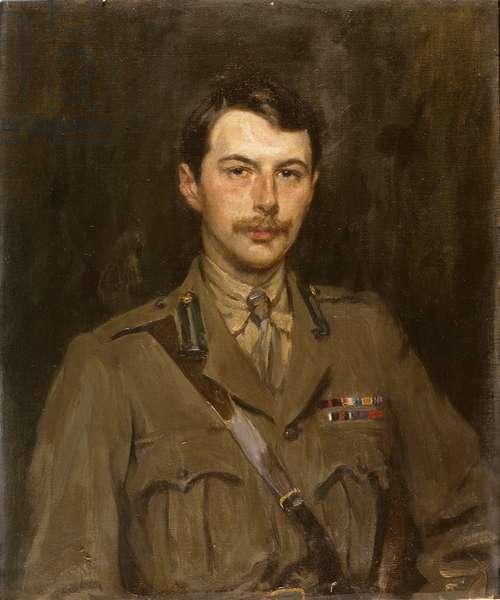 Portrait of Edward Cavendish when Marquess of Hartington, c.1918-20 (oil on canvas)