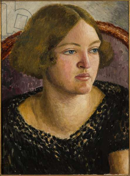 Portrait of Catherine Carrington, c.1926 (oil on canvas)