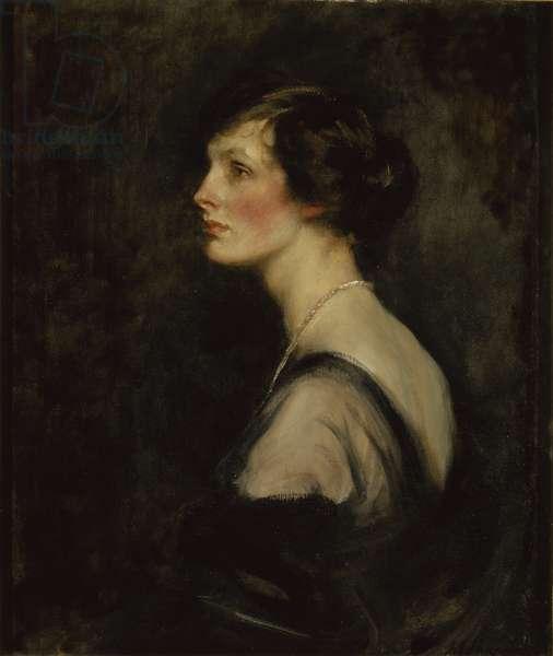 Portrait of Mary Gascoigne-Cecil when Marchioness of Hartington, c.1917-18 (oil on canvas)