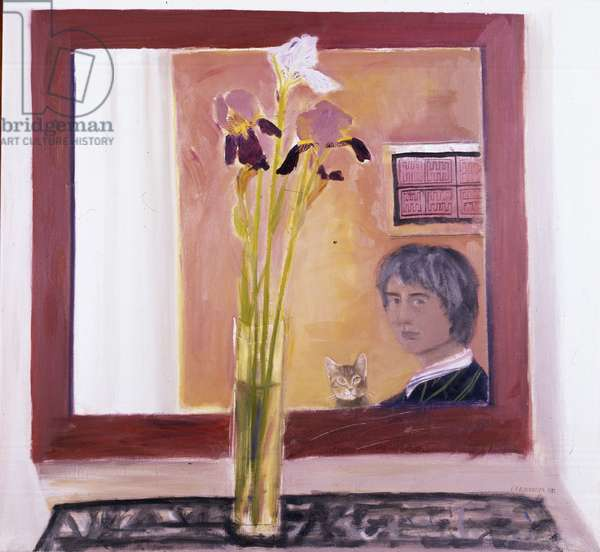 Self Portrait, 1982 (oil on canvas)
