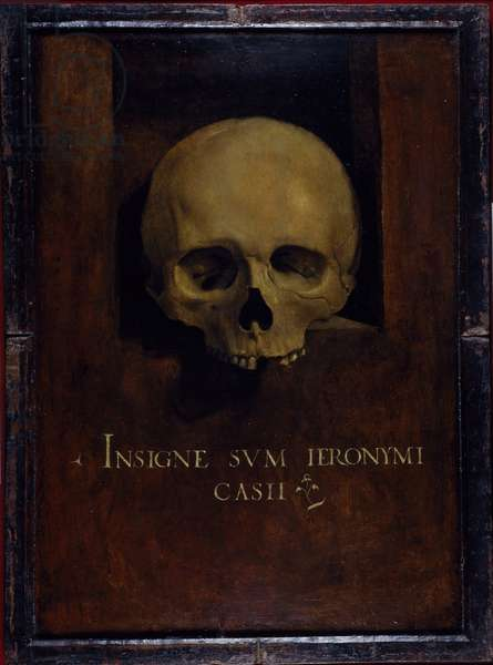 Memento Mori, c.1500 (oil on wood panel)