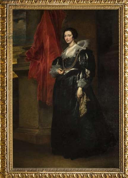 Portrait of Johanna de Blois, c.1634-35 (oil on canvas)