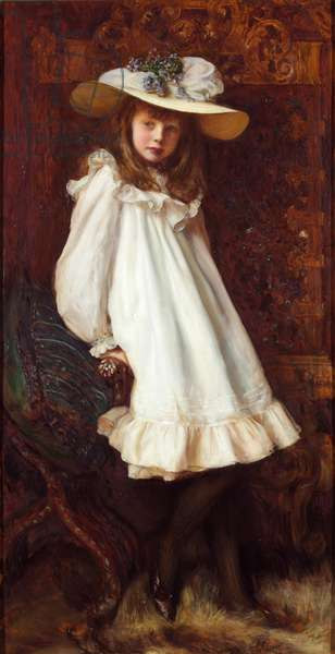 Portrait of Lady Maud Cavendish (oil on canvas)