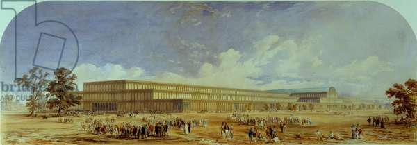 The Crystal Palace, Hyde Park, 1850 (w/c on paper)