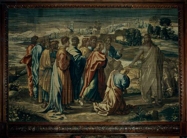 Christ's Charge to St. Peter, Mortlake workshop, 1635-39 (textile)