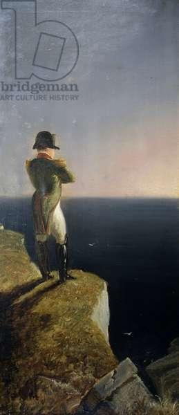 Napoleon on Elba musing at St. Helena, c.1844 (oil on canvas)