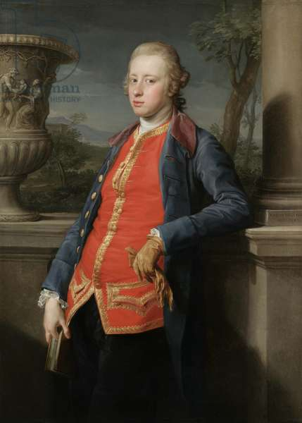 Portrait of William Cavendish, 5th Duke of Devonshire, 1768 (oil on canvas)
