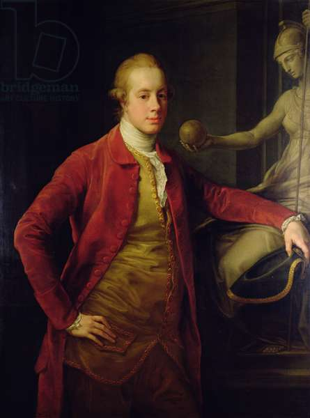 Portrait of Lord Richard Cavendish, 1773 (oil on canvas)