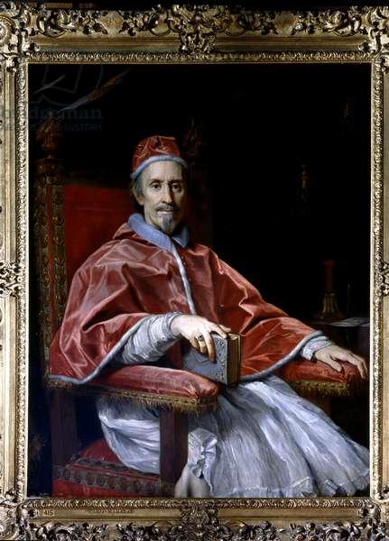 Portrait of Pope Clement IX, c.1669 (oil on canvas)