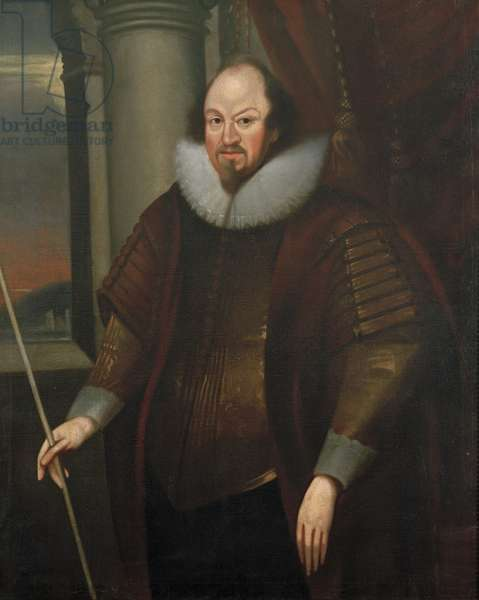 Portrait of Richard Boyle, 1st Earl of Cork, c.1640 (oil on canvas)