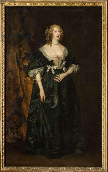Portrait of Anna Sophia Herbert, Countess of Carnarvon (oil on canvas)
