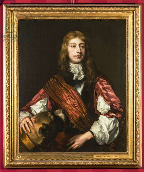 Portrait of Thomas Killigrew, The Poet, 1637 (oil on canvas)