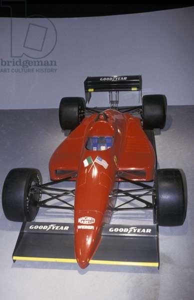 Ferrari Indy, Galleria Ferrari museum, Maranello, Emilia Romagna, Italy