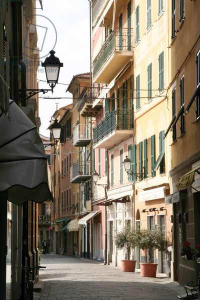 Street, Varazze, Ligury, Italy