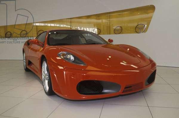 Ferrari F430, Galleria Ferrari museum, Maranello, Emilia Romagna, Italy