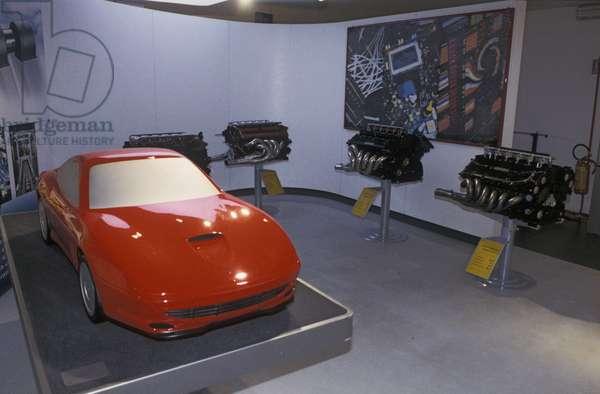 Ferrari 550 Maranello, Galleria Ferrari museum, Maranello, Emilia Romagna, Italy
