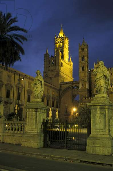 The Cathedral, Palermo, Sicily, Italy