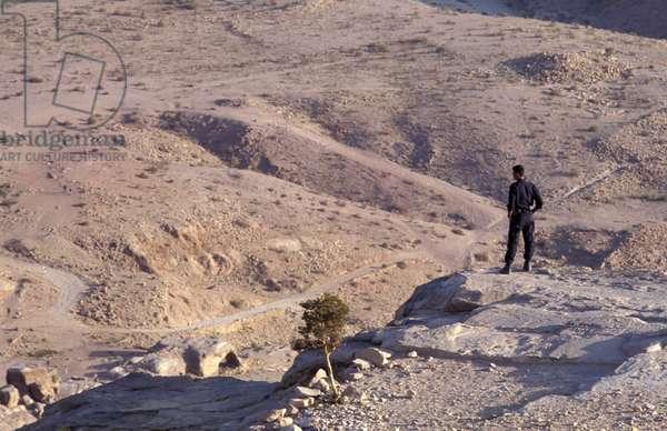 Policeman, Petra, Jordan, Middle East