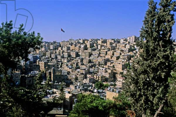Cityscape, Amman, Jordan, Middle East