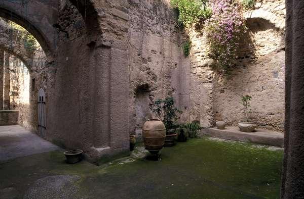 Nunnery of Clarisse, Ischia, Campania, Italy.