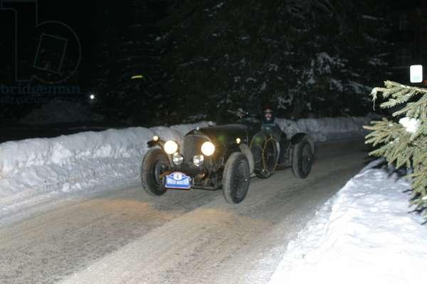 Bentley 4.5 Litres, Winter Marathon 2004, Madonna di Campiglio, Trento, Trentino, Italy