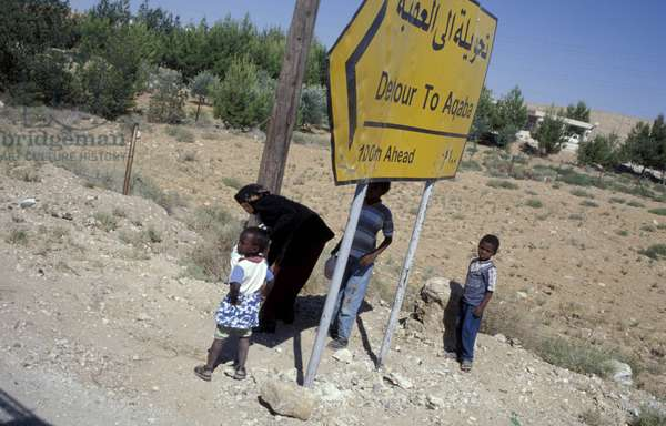 Local people, Jordan, Middle East
