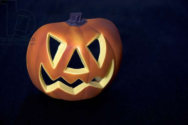 Halloween pumpkin, Eden Gym Wellness Center, Genoa, Ligury, Italy