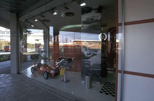 Ferrari Store, Galleria Ferrari museum, Maranello, Emilia Romagna, Italy
