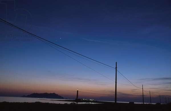 Sunset, Favignana, Sicily, Italy