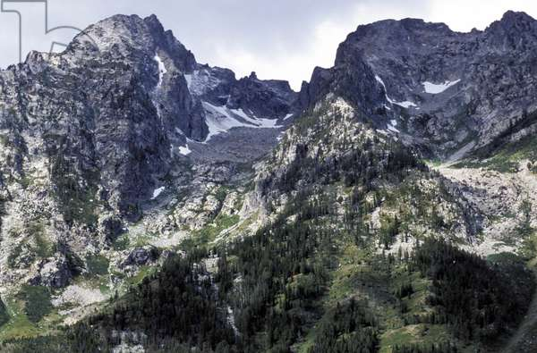 The Cathedral Group, Grand Teton National Park, Wyoming, United States of America
