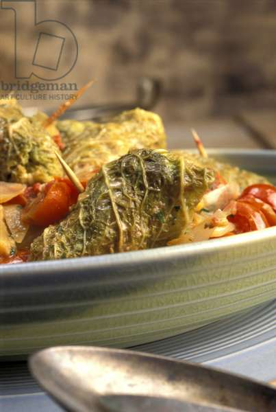 Roulade with tomatoes, Italy