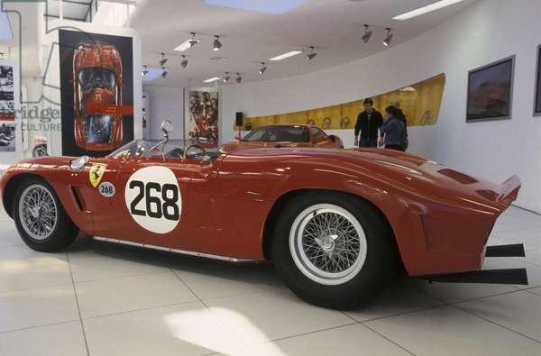 Ferrari 268 SP, Galleria Ferrari museum, Maranello, Emilia Romagna, Italy