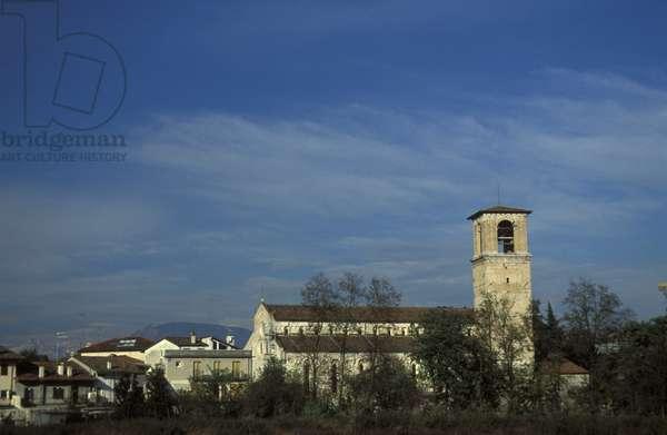 The cathedral, Spilimbergo, Friuli Venezia Giulia, Italy.