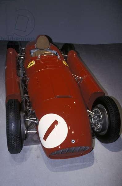 Ferrari D50, Galleria Ferrari museum, Maranello, Emilia Romagna, Italy